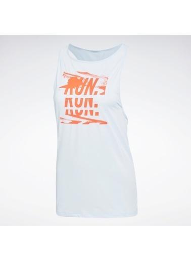 Reebok Kadın Mavi One Series Running Activchill Atlet FL0080 Mavi